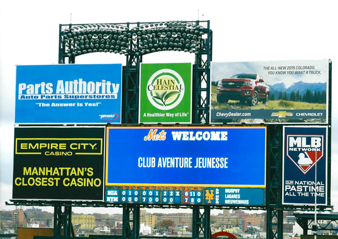Mets Welcome Club Aventure Jeunesse